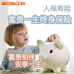 [中国人民]中国人民人寿保险——人保寿险富贵一生终身保险