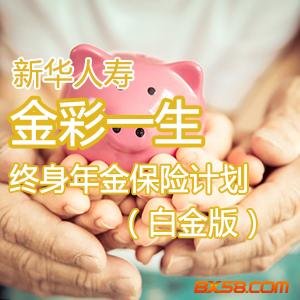金彩一生终身年金保险计划(白金版)