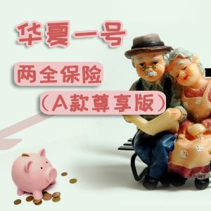 華夏人壽保險——華夏一號兩全保險(A款尊享版)