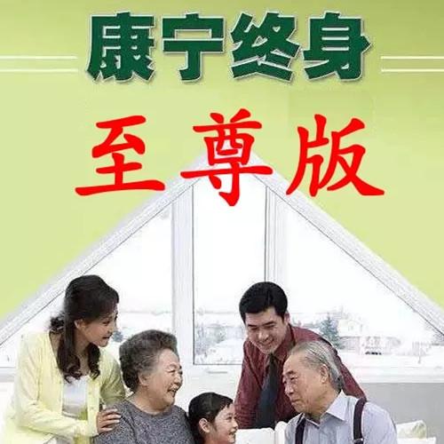 """中国人寿""""康宁终身""""(至尊版)"""
